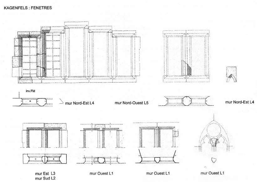 Etude Architecturale Du Kagenfels